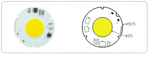 LED高压模块EAG25-AC 系列