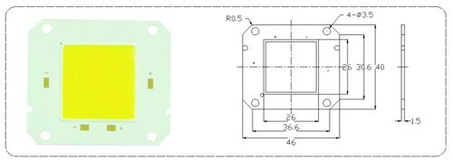 LED COB模块EBSE26 系列