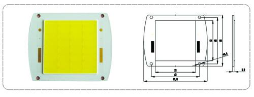 LED COB模块ECSE52 系列